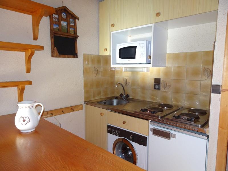 Vacaciones en montaña Apartamento 3 piezas para 4 personas (D18) - Les Hauts de Planchamp - Champagny-en-Vanoise - Cocina abierta