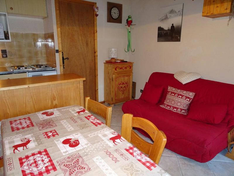Vacaciones en montaña Apartamento 3 piezas para 4 personas (D18) - Les Hauts de Planchamp - Champagny-en-Vanoise - Sofá