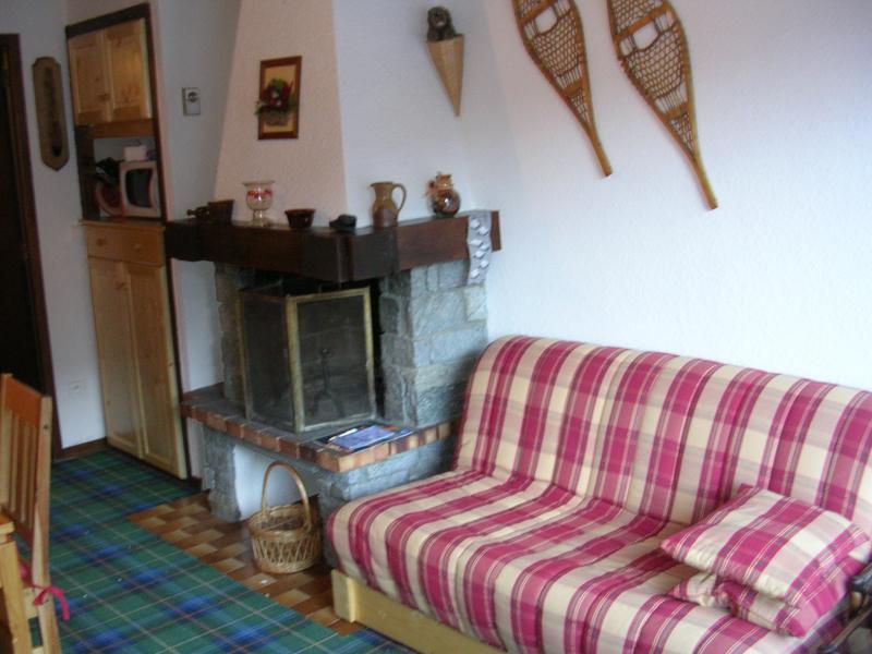 Vacances en montagne Appartement duplex 3 pièces 6 personnes (B049CL) - Les Hauts de Planchamp - Bruyères - Champagny-en-Vanoise - Cheminée