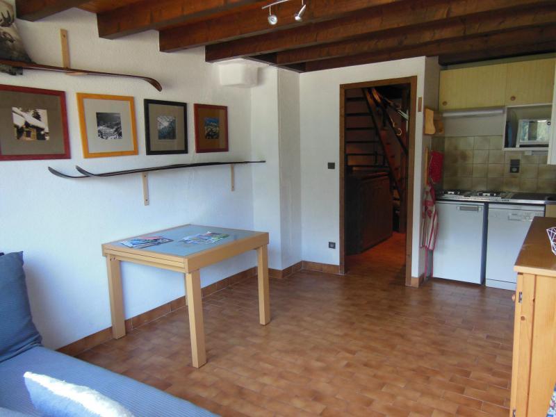 Wakacje w górach Apartament duplex 3 pokojowy 6 osób (D023CL) - Les Hauts de Planchamp - Campanule - Champagny-en-Vanoise - Pokój gościnny