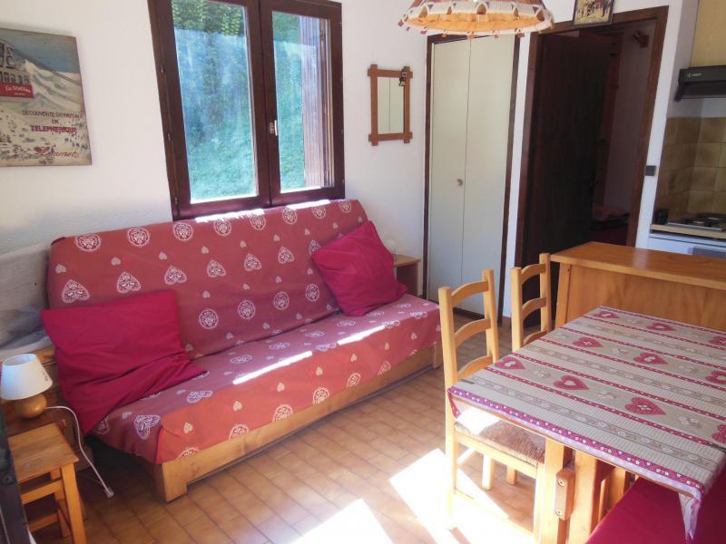 Vacances en montagne Studio coin montagne 3 personnes (C006CL) - Les Hauts de Planchamp - Campanule - Champagny-en-Vanoise - Canapé-lit