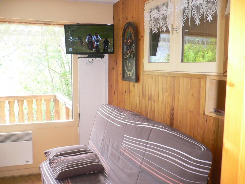 Wakacje w górach Studio z alkową 4 osoby (C001CL) - Les Hauts de Planchamp - Campanule - Champagny-en-Vanoise - Pokój gościnny