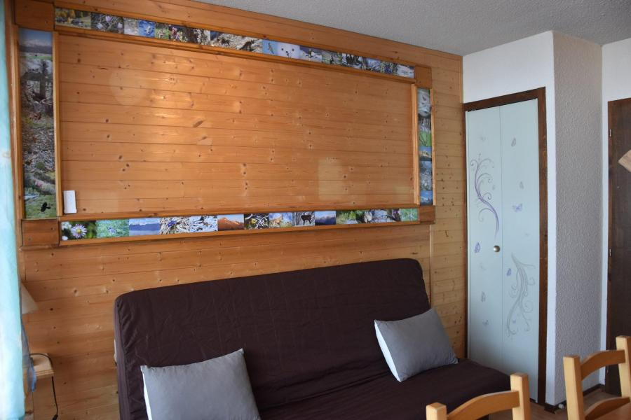 Vacaciones en montaña Estudio para 3 personas (D6) - Les Hauts de Planchamp - Champagny-en-Vanoise - Sofá-cama
