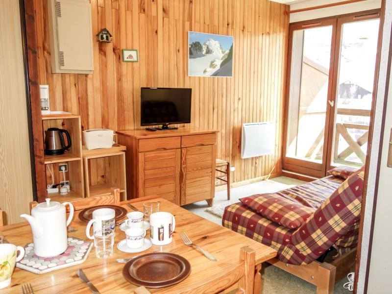 Holiday in mountain resort 2 room apartment 6 people (3) - Les Hauts de St Gervais - Saint Gervais - Summer outside