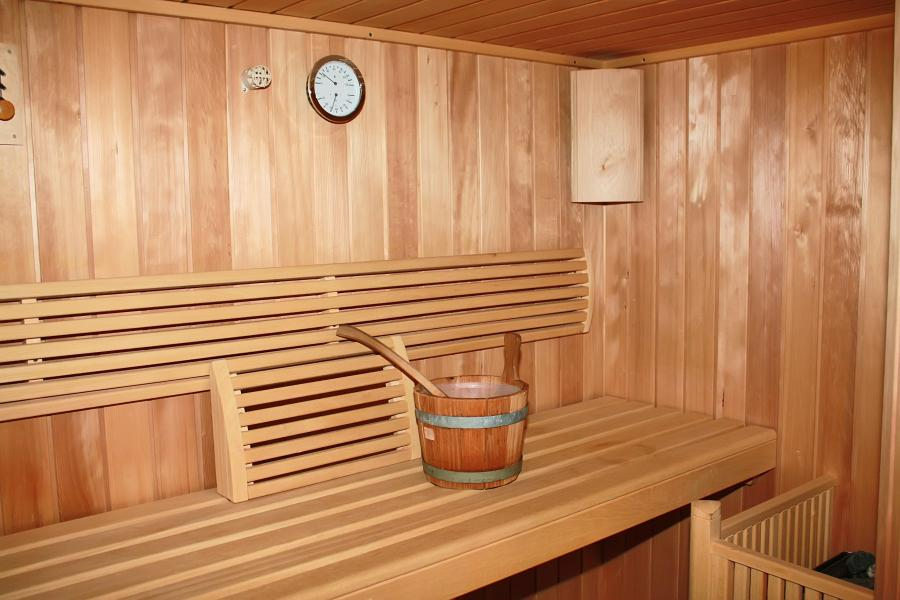 Vacances en montagne Les Hauts de Valmeinier - Valmeinier - Sauna