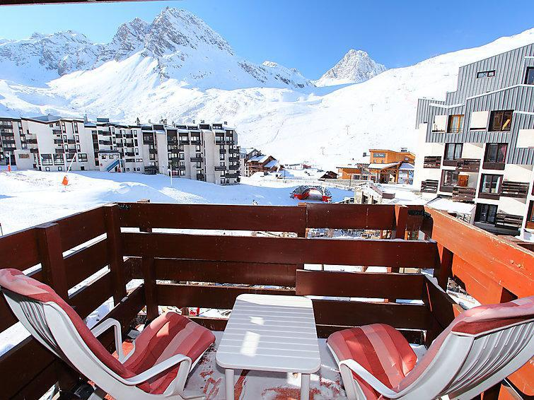 Holiday in mountain resort 2 room apartment 4 people (20) - Les Hauts du Val Claret - Tignes - Summer outside