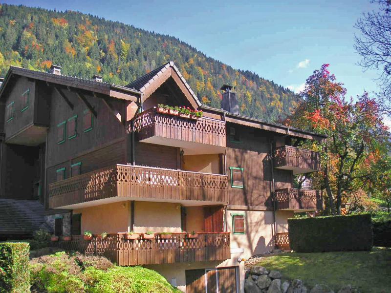 Аренда на лыжном курорте Апартаменты 3 комнат 6 чел. (5) - Les Huskies - Les Contamines-Montjoie - летом под открытым небом