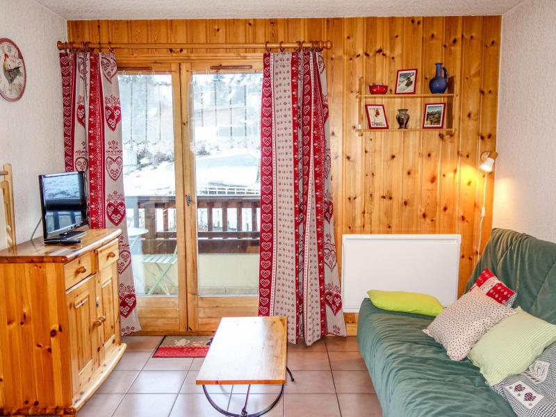 Holiday in mountain resort 2 room apartment 4 people (2) - Les Jardins Alpins - Saint Gervais - Summer outside
