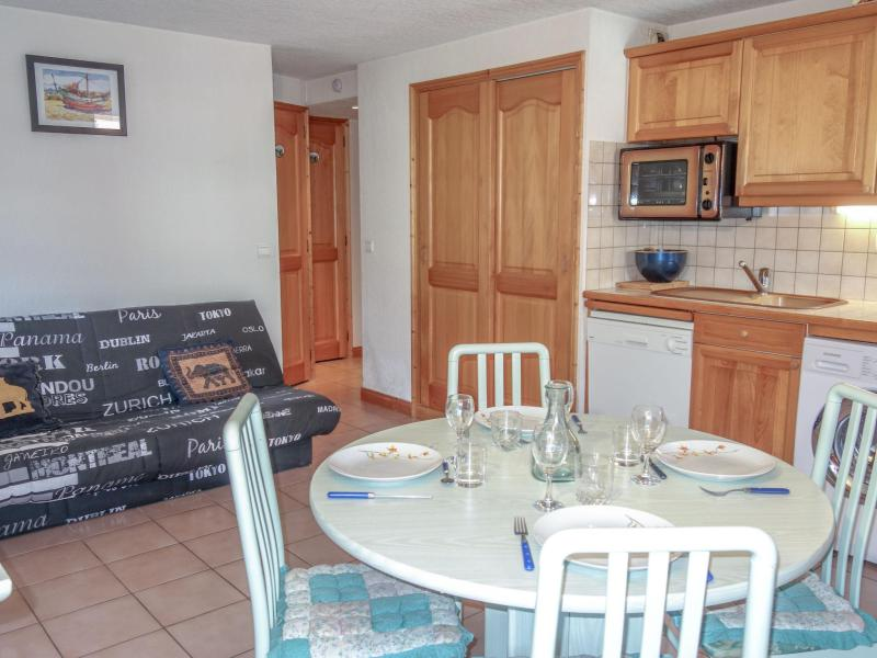 Vakantie in de bergen Appartement 2 kamers 4 personen (4) - Les Jardins Alpins - Saint Gervais - Verblijf