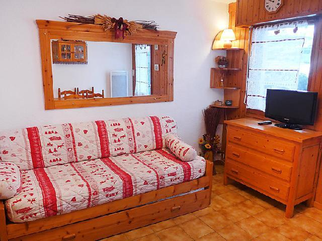 Holiday in mountain resort 1 room apartment 2 people (2) - Les Jardins du Mont-Blanc - Chamonix - Accommodation
