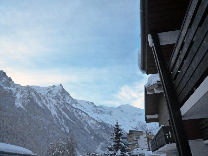 Holiday in mountain resort 1 room apartment 4 people (4) - Les Jardins du Mont-Blanc - Chamonix - Accommodation