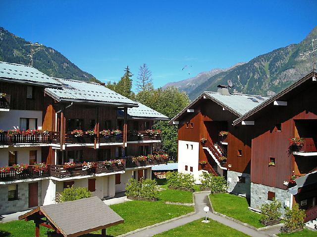 Holiday in mountain resort 1 room apartment 2 people (2) - Les Jardins du Mont-Blanc - Chamonix - Summer outside