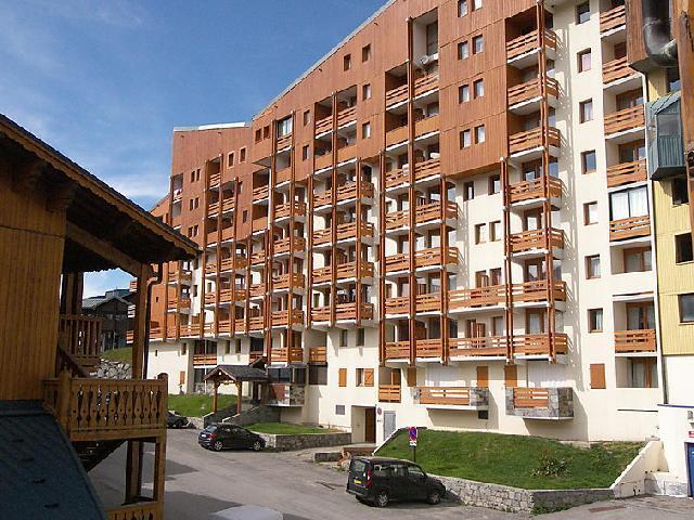 Location au ski Appartement 1 pièces 4 personnes (3) - Les Lauzières - Val Thorens - Extérieur été