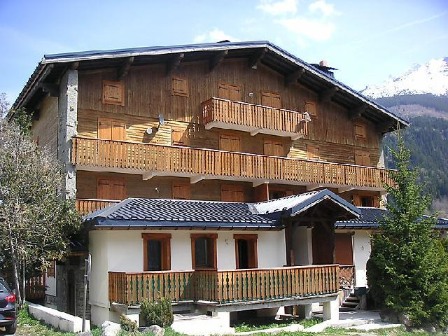 Holiday in mountain resort 6 room apartment 10 people (1) - Les Moranches - Les Contamines-Montjoie - Summer outside