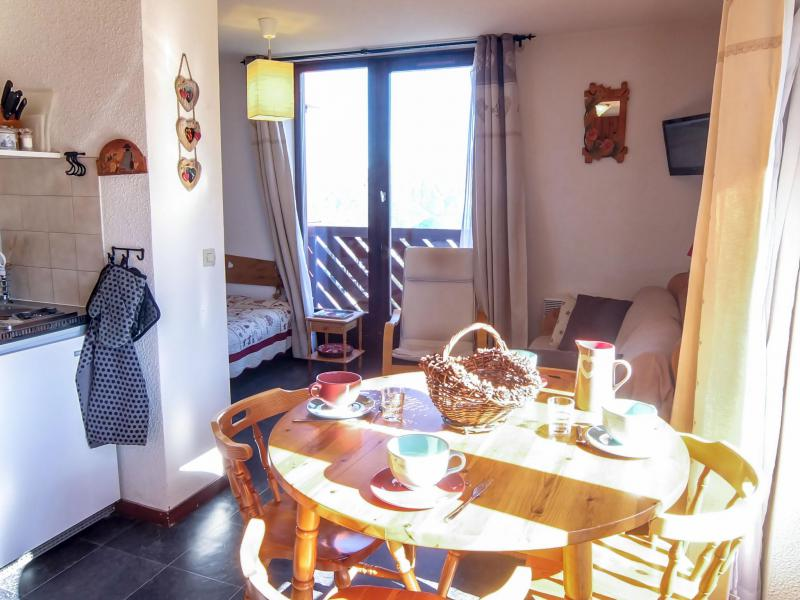 Holiday in mountain resort 1 room apartment 4 people (3) - Les Mousquetons - La Toussuire - Accommodation