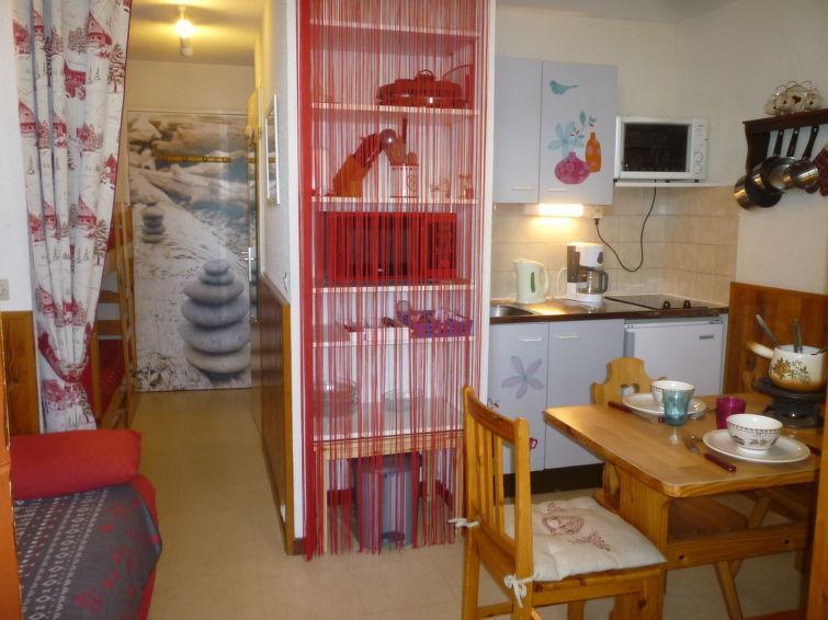 Vakantie in de bergen Appartement 2 kamers 4 personen (8) - Les Mousquetons - La Toussuire - Buiten zomer