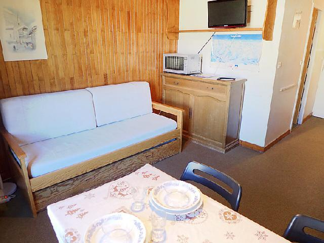 Holiday in mountain resort 1 room apartment 2 people (17) - Les Moutières B1 et B2 - Tignes - Accommodation