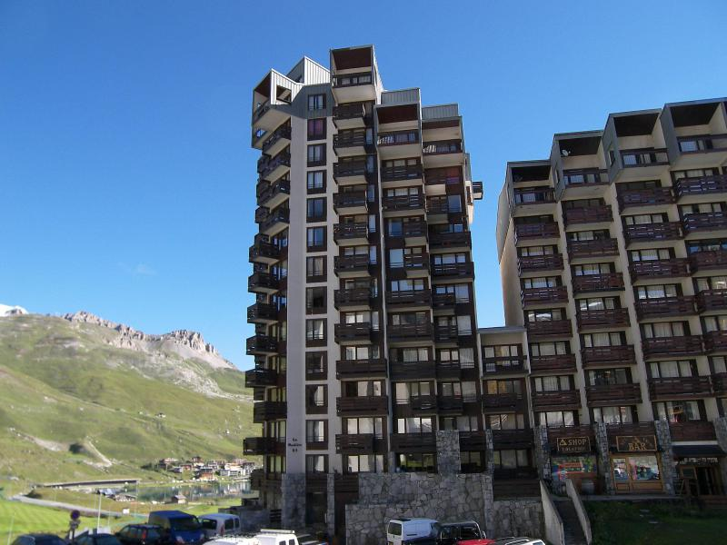Holiday in mountain resort Les Moutières B1 et B2 - Tignes - Summer outside