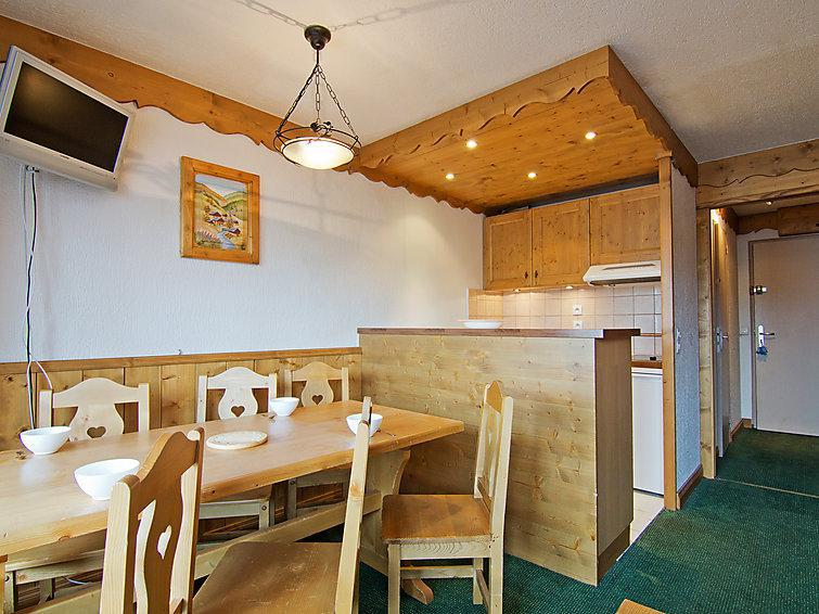 Holiday in mountain resort 1 room apartment 4 people (1) - Les Névés - Val Thorens - Summer outside