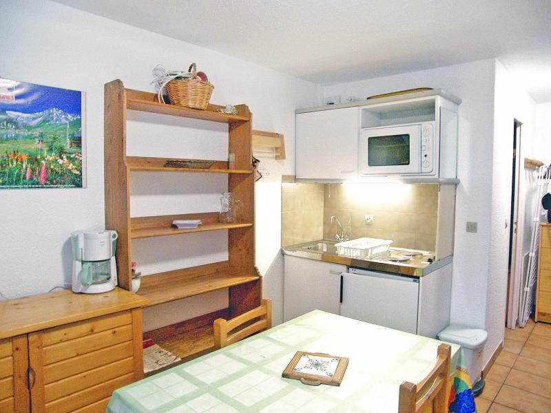 Holiday in mountain resort Studio cabin 4 people (4) - Les Olympiques - Tignes - Accommodation