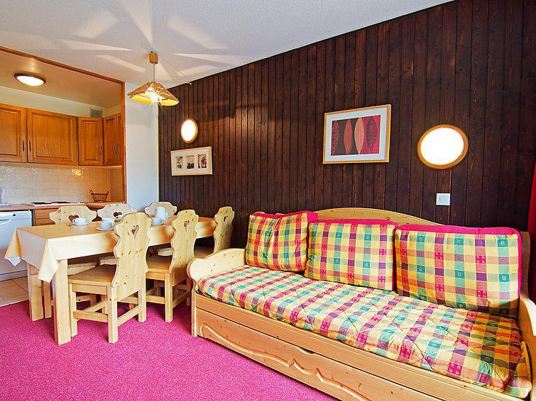 Holiday in mountain resort 3 room apartment 6 people (2) - Les Origanes - Les Menuires - Summer outside