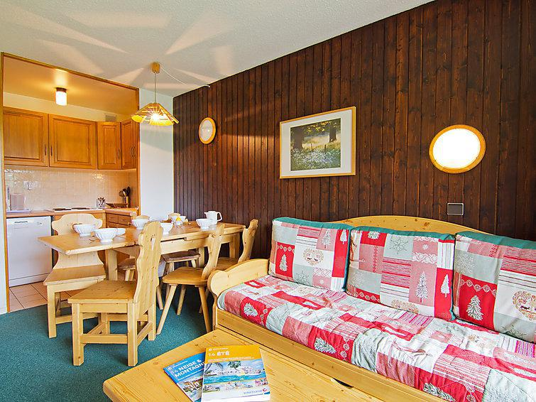 Holiday in mountain resort 3 room apartment 6 people (4) - Les Origanes - Les Menuires - Summer outside