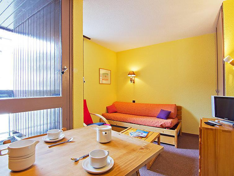 Holiday in mountain resort 1 room apartment 2 people (8) - Les Origanes - Les Menuires - Summer outside