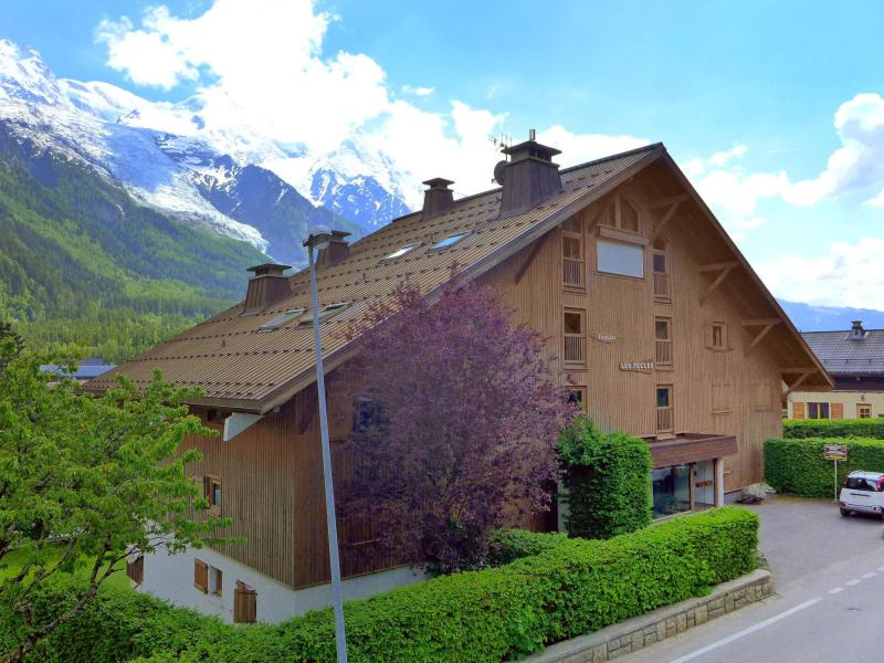Holiday in mountain resort 1 room apartment 4 people (1) - Les Pècles - Chamonix - Summer outside