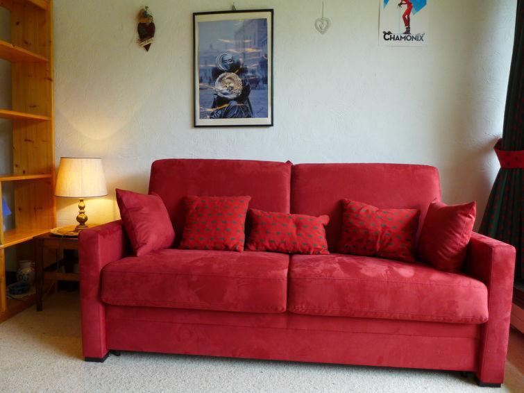 Vakantie in de bergen Appartement 1 kamers 4 personen (1) - Les Pècles - Chamonix - Verblijf