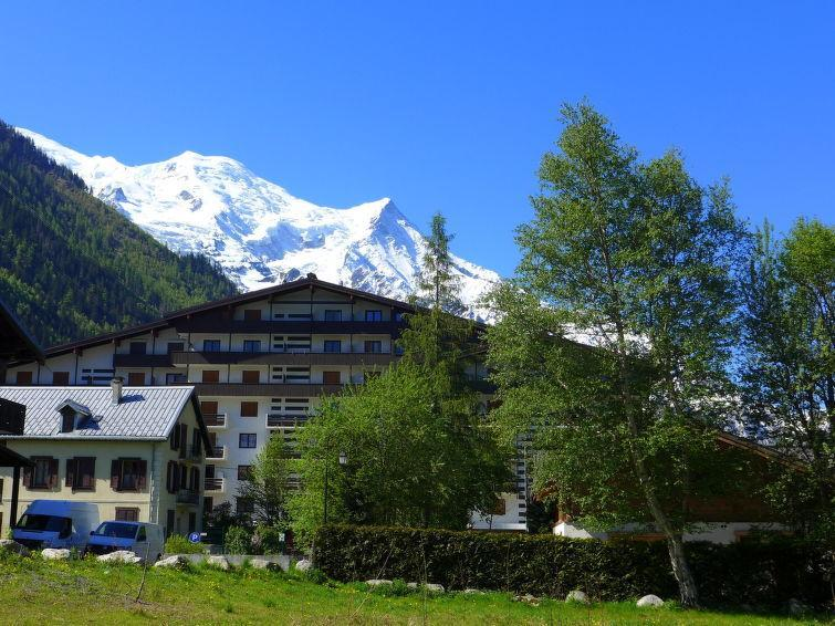 Holiday in mountain resort 1 room apartment 2 people (1) - Les Périades - Chamonix - Summer outside