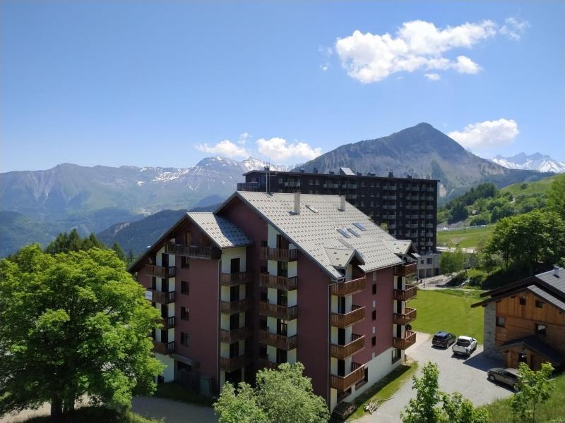 Location au ski Appartement 3 pièces 6 personnes (18) - Les Pistes - Le Corbier - Extérieur été