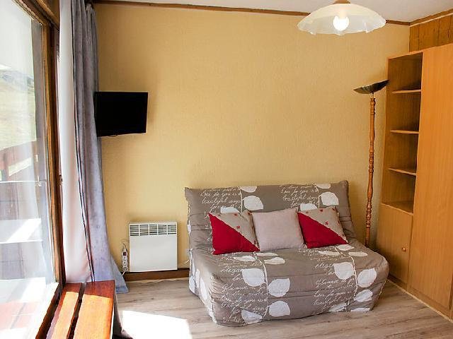 Holiday in mountain resort Studio sleeping corner 4 people (2) - Les Pistes - Tignes - Settee