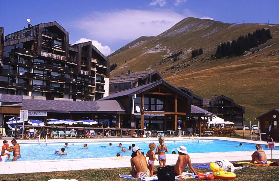 Urlaub in den Bergen Les Résidences - Manigod l'Etale - Draußen im Sommer