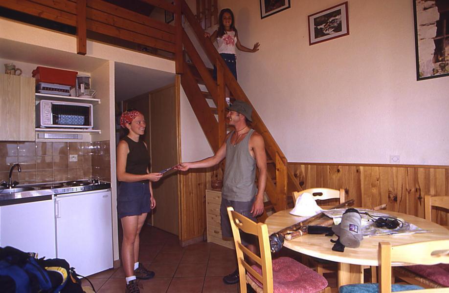 Urlaub in den Bergen Les Résidences - Manigod l'Etale - Küche