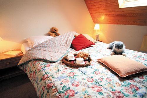 Holiday in mountain resort Les Résidences Pla d'Adet - Saint Lary Soulan - Bedroom under mansard