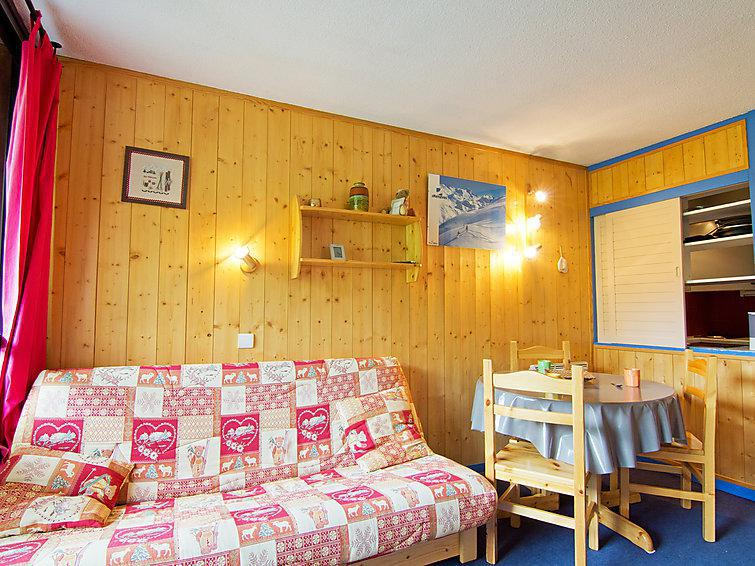 Holiday in mountain resort 2 room apartment 4 people (1) - Les Soldanelles - Les Menuires - Accommodation