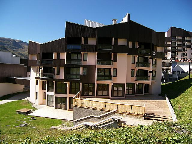 Holiday in mountain resort 2 room apartment 4 people (1) - Les Soldanelles - Les Menuires - Summer outside