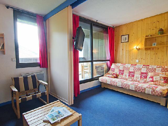 Vakantie in de bergen Appartement 2 kamers 4 personen (1) - Les Soldanelles - Les Menuires - Verblijf