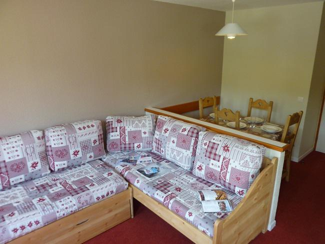 Holiday in mountain resort 2 room apartment 4 people (4F) - Les Temples du Soleil Nazca - Val Thorens