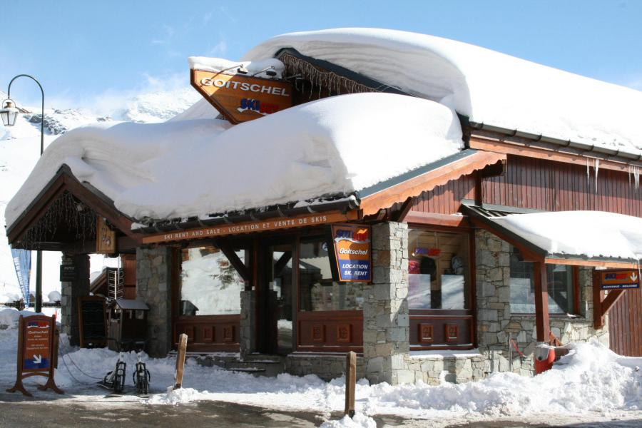 Holiday in mountain resort Les Temples du Soleil Nazca - Val Thorens