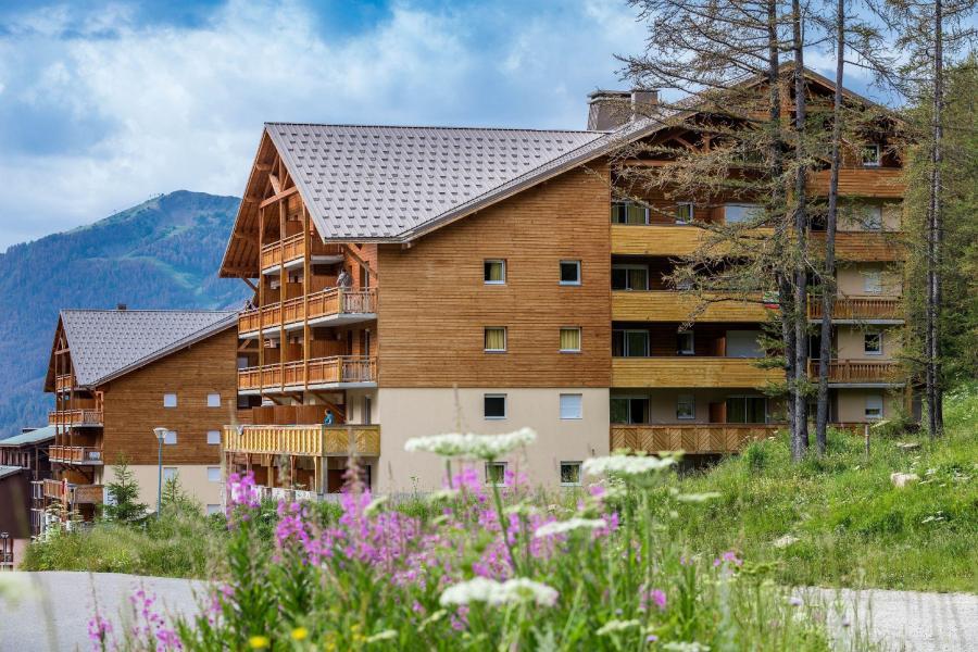 Rent in ski resort Les Terrasses de Labrau - Val d'Allos - Summer outside