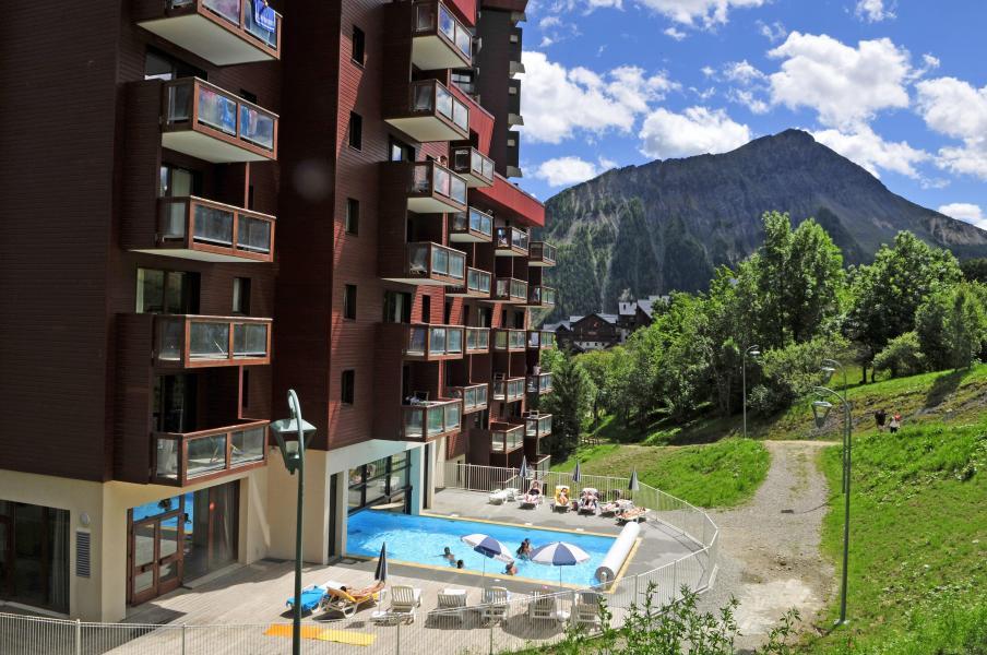 Vacances en montagne Les Terrasses du Corbier - Le Corbier - Extérieur été
