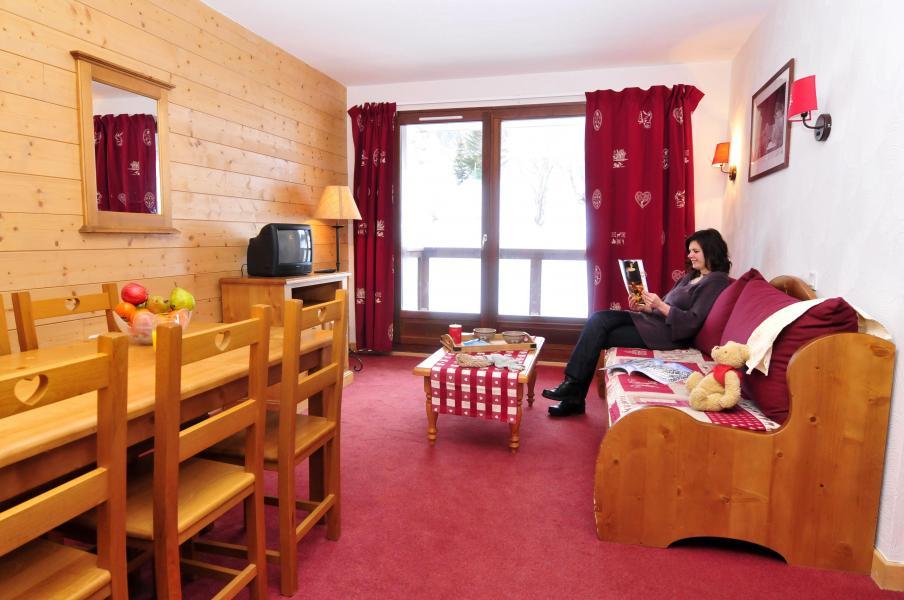 Urlaub in den Bergen Les Terrasses du Corbier - Le Corbier - Esszimmer