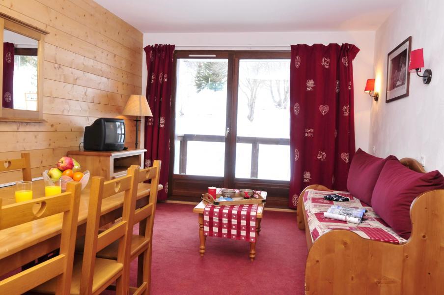 Urlaub in den Bergen Les Terrasses du Corbier - Le Corbier - Kleines Wohnzimmer