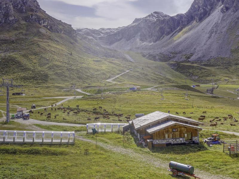 Location au ski Appartement 1 pièces 4 personnes (19) - Les Tommeuses - Tignes - Extérieur été