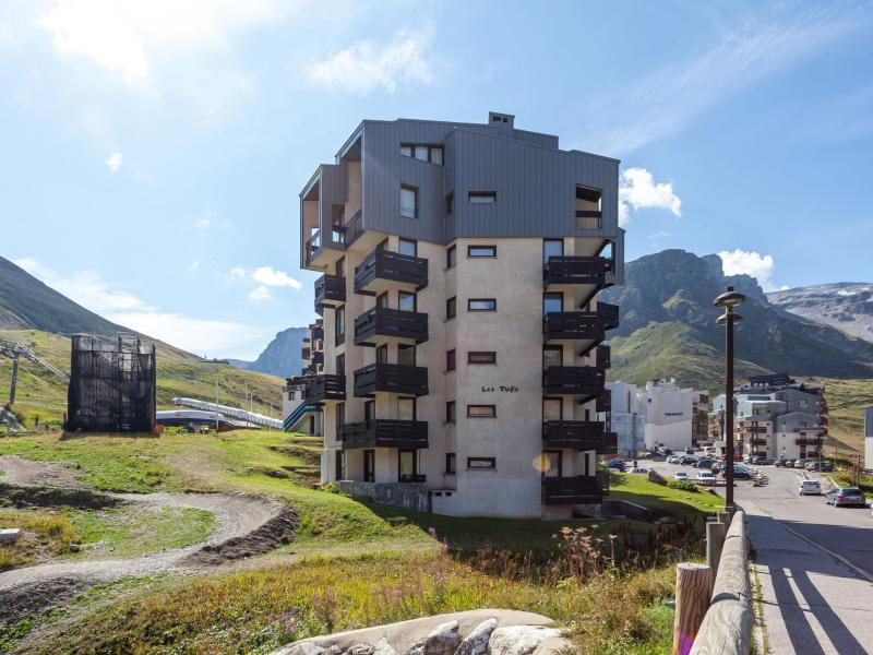Vakantie in de bergen Appartement 1 kamers 4 personen (7) - Les Tufs - Tignes - Buiten zomer