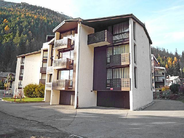 Holiday in mountain resort 1 room apartment 3 people (1) - Lognan - Chamonix - Summer outside