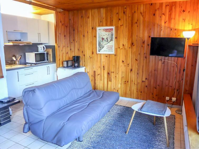 Holiday in mountain resort 1 room apartment 3 people (2) - Lognan - Chamonix - Summer outside