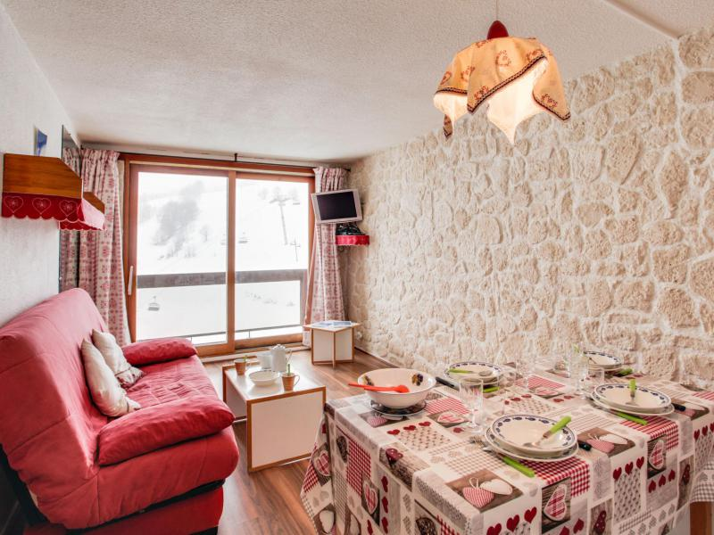 Holiday in mountain resort 1 room apartment 4 people (45) - Lunik Orion - Le Corbier - Accommodation