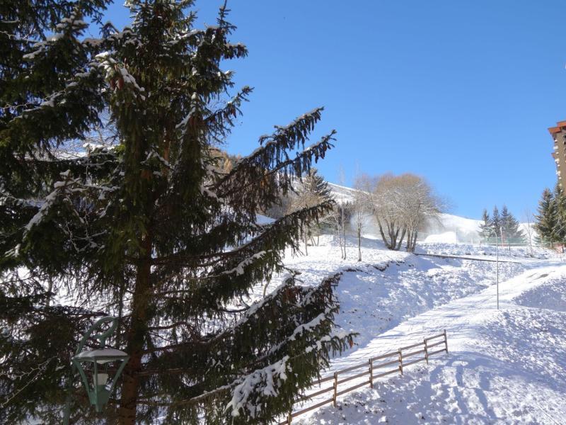 Vakantie in de bergen Appartement 1 kamers 4 personen (28) - Lunik Orion - Le Corbier